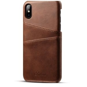 Accessories - Brown Leather iPhone Case